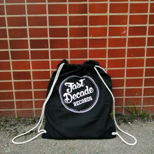 Fast Decade Records Drawstring bag