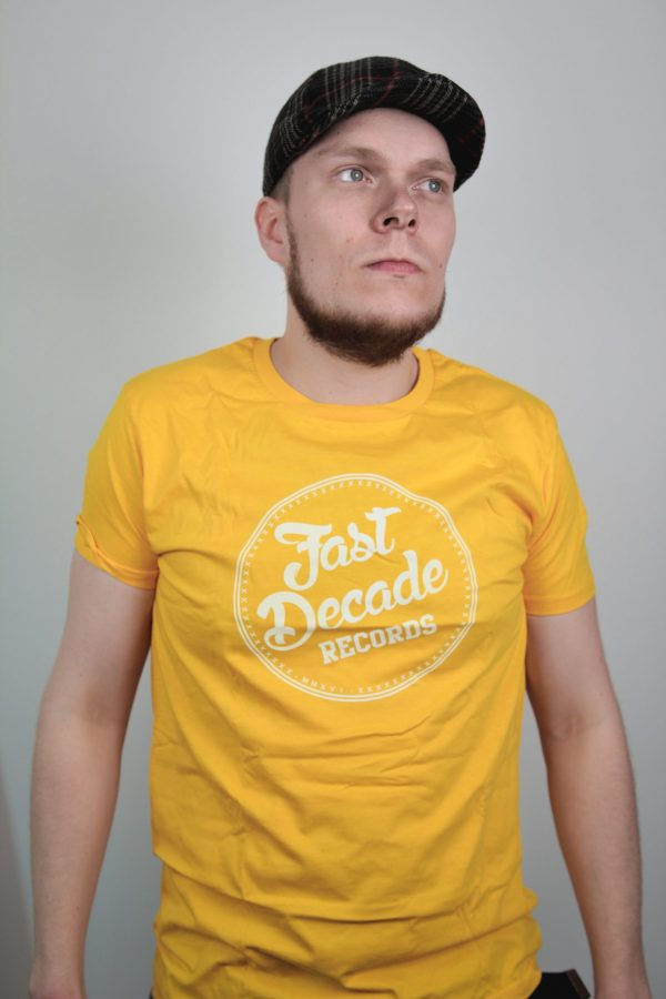 Fast Decade Records T-shirt mango