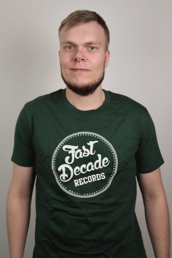 Fast Decade Records T-shirt green