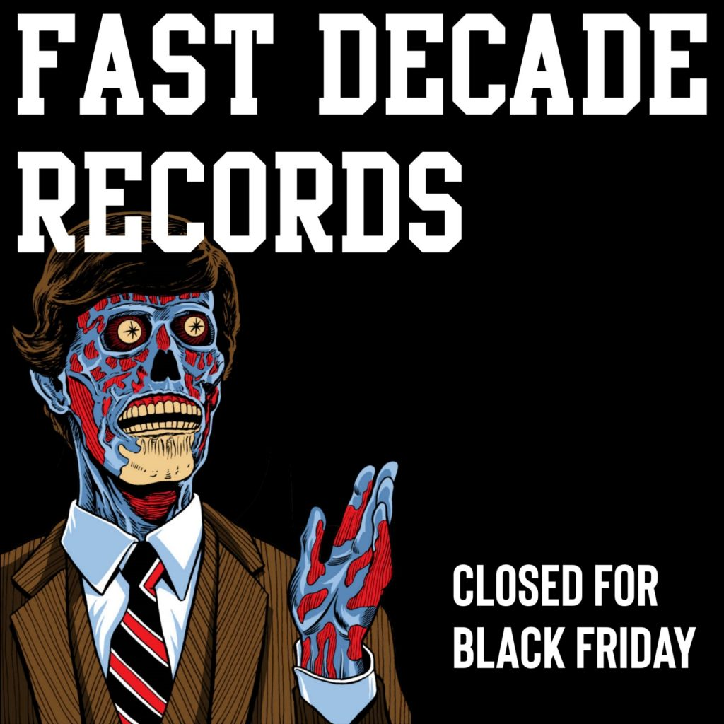 Closed For Black Friday