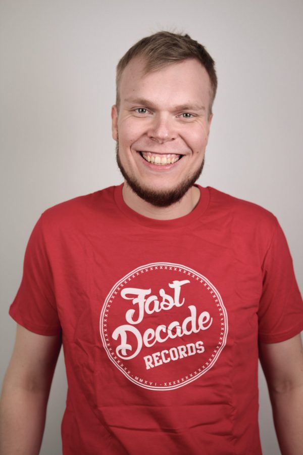 Fast Decade Records t-shirt red