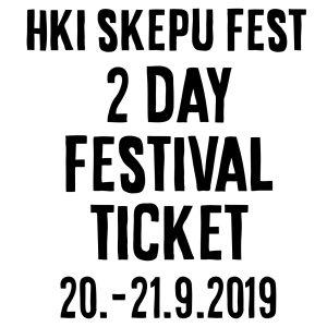 HKI SKEPUFEST 2day ticket